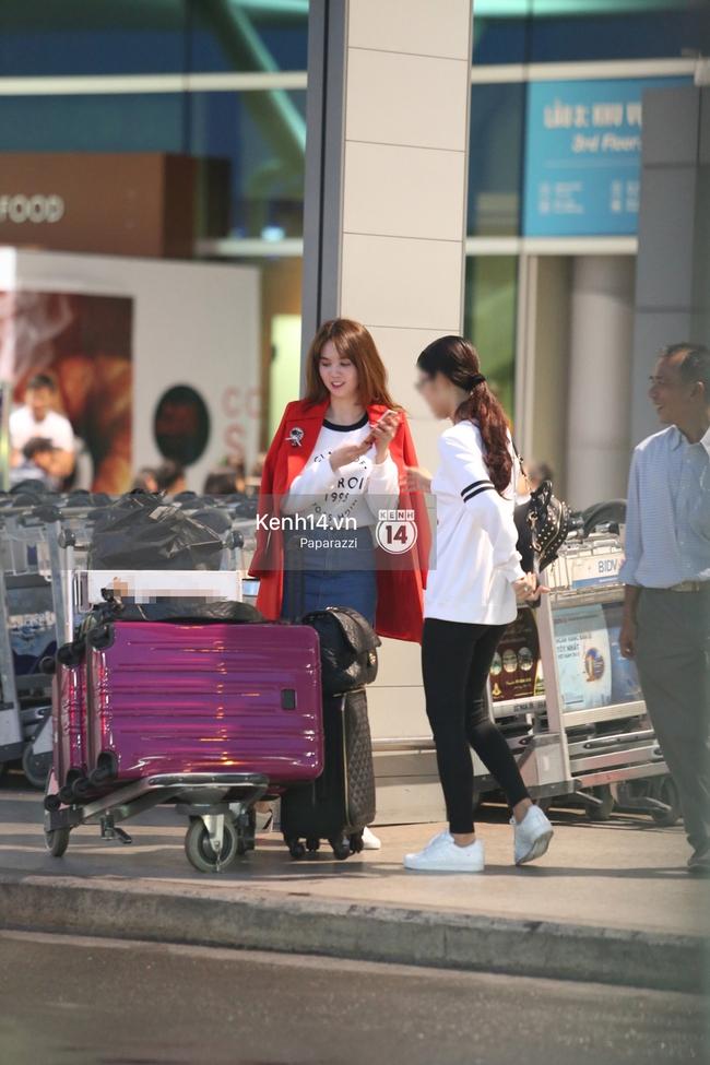 Ngọc Trinh xinh đẹp xuất hiện ở sân bay, sang Mỹ thăm người tình tỷ phú? - Ảnh 2.