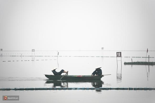 Chùm ảnh: Hà Nội ngày mù sương - Ảnh 3.