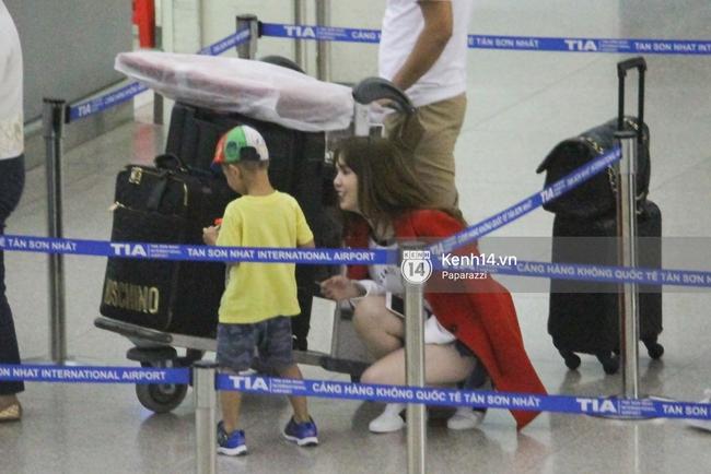 Ngọc Trinh xinh đẹp xuất hiện ở sân bay, sang Mỹ thăm người tình tỷ phú? - Ảnh 7.