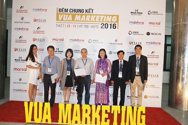 Kịch tính, bùng nổ cùng chung kết Vua Marketing 2016 - Ảnh 1.