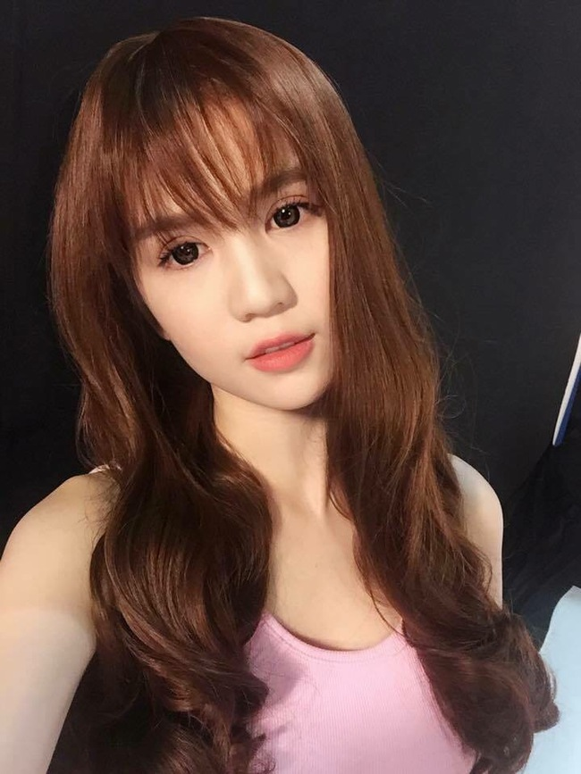 New hair Ngoc Trinh: petite, dear children are young again!  - Photo 2.