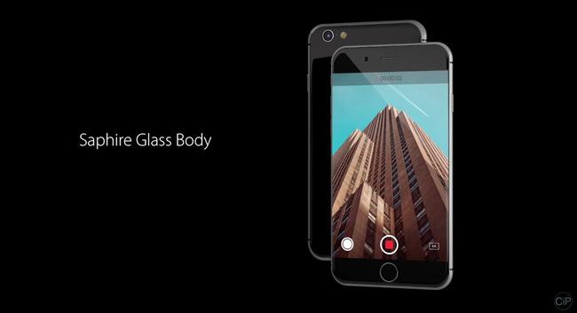 Chiêm ngưỡng iPhone 8 với mặt lưng kính cực bóng bẩy - Ảnh 1.