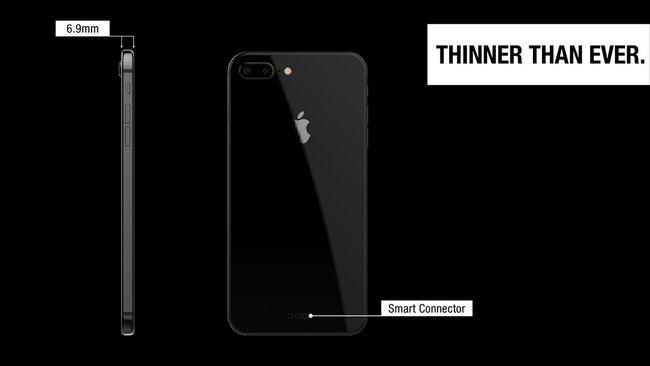 Ngất ngây với ý tưởng iPhone X đẹp phát hờn, anti-fan chắc sẽ tức nổ mắt - Ảnh 4.
