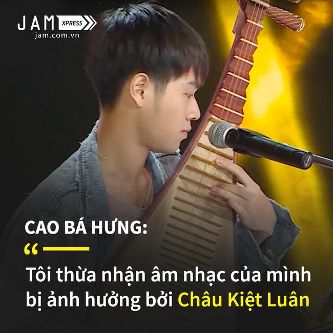 Cao Bá Hưng: Tôi thừa nhận mình có bị ảnh hưởng bởi âm nhạc của Châu Kiệt Luân - Ảnh 3.