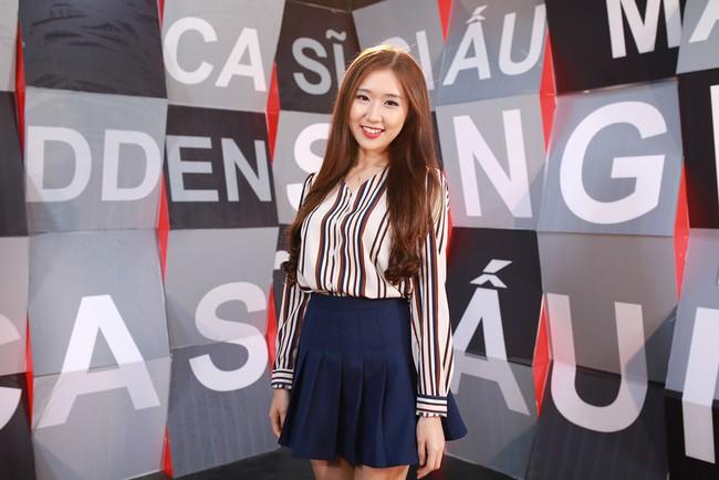 Xuất hiện cô gái Hàn Quốc hát Phía sau một cô gái bằng tiếng Hàn đầy ấn tượng! - Ảnh 4.