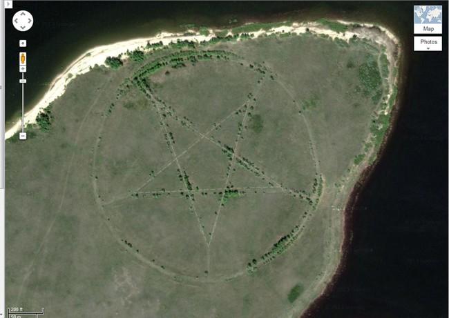 Những hình ảnh kì lạ nhất của Trái đất trên Google Earth - Ảnh 6.