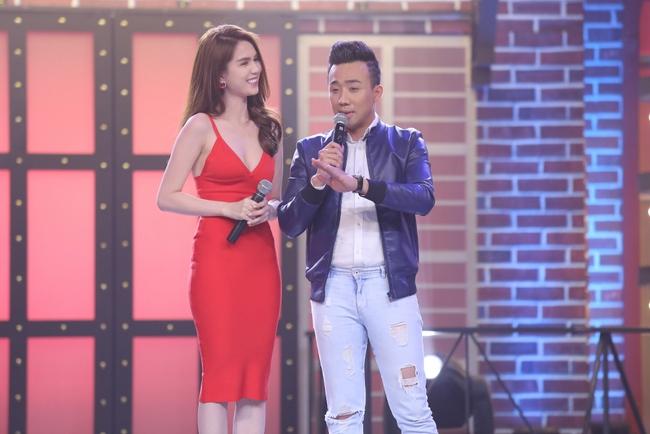 Ngọc Trinh sexy làm host bên Trấn Thành trong show truyền hình mới - Ảnh 11.