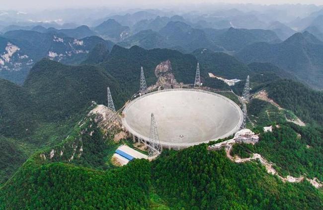 Trung Quốc khánh thành kính viễn vọng săn người ngoài hành tinh lớn nhất thế giới - ảnh 1