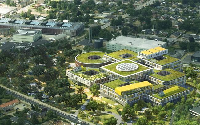 Chiêm ngưỡng trụ sở tuyệt đẹp mới của LEGO, trông như đồ chơi cỡ lớn - Ảnh 2.