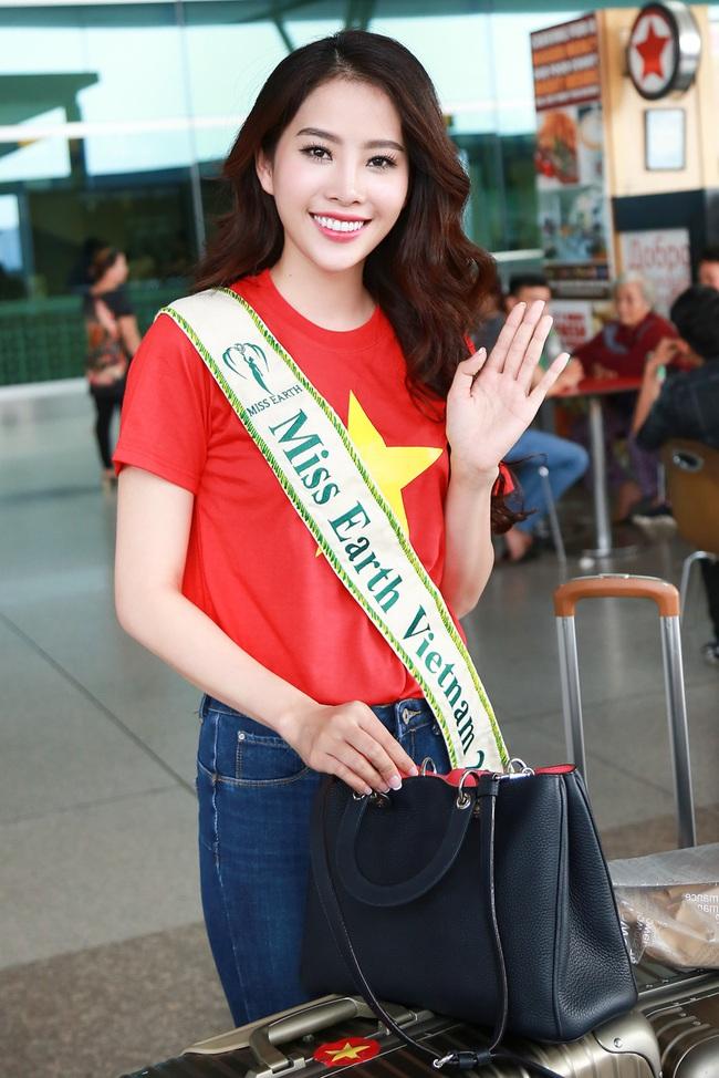 Hoa khôi Nam Em đã chính thức lên đường đến Philippines, đại diện Việt Nam thi Miss Earth - Ảnh 5.