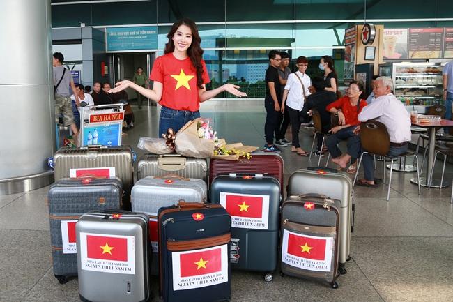 Hoa khôi Nam Em đã chính thức lên đường đến Philippines, đại diện Việt Nam thi Miss Earth - Ảnh 4.