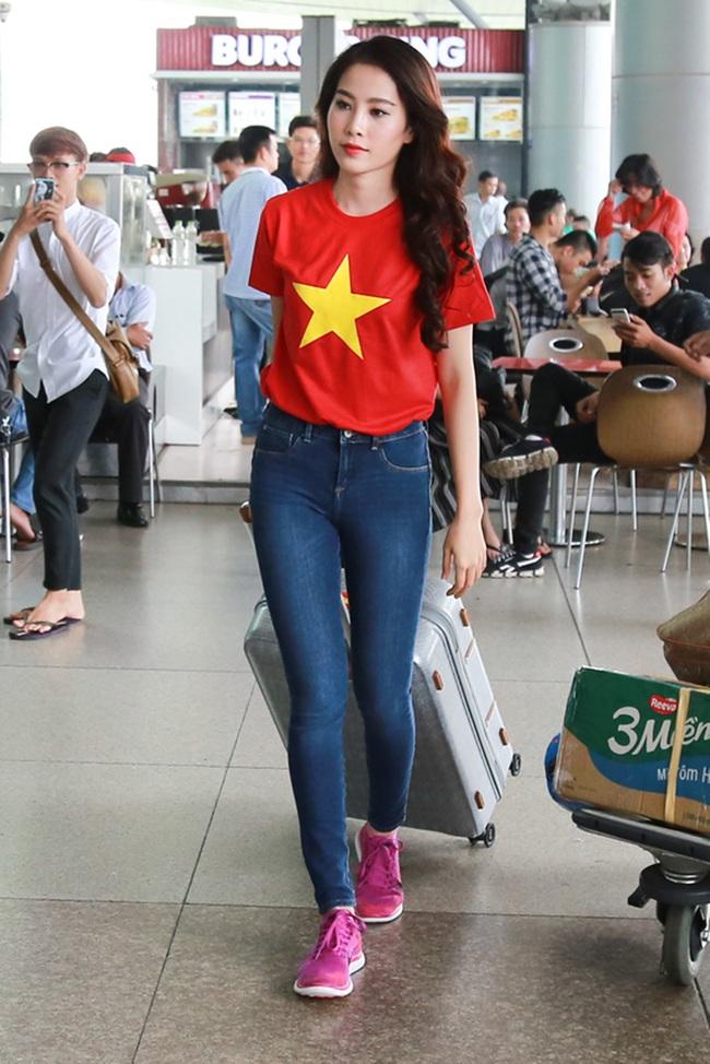 Hoa khôi Nam Em đã chính thức lên đường đến Philippines, đại diện Việt Nam thi Miss Earth - Ảnh 3.