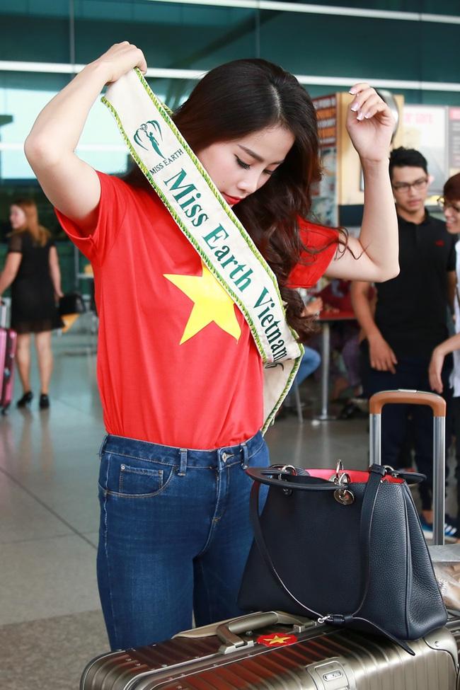 Hoa khôi Nam Em đã chính thức lên đường đến Philippines, đại diện Việt Nam thi Miss Earth - Ảnh 2.