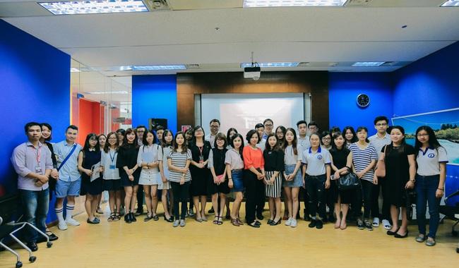 Học sinh Hà Nội thử tài tiếng Anh qua cuộc thi GLN New Face - Ảnh 4.