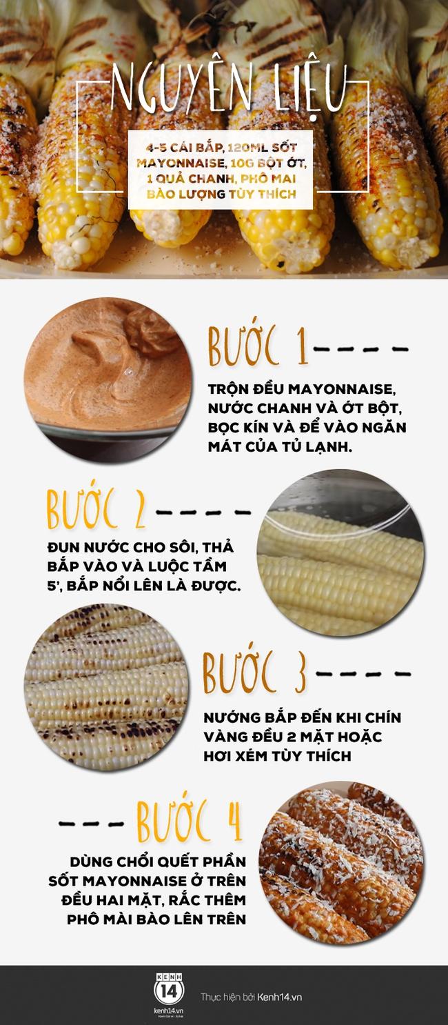 """""""Nâng cấp"""" món bắp nướng thông thường với phiên bản bắp sốt mayonnaise béo ngậy - Ảnh 1."""