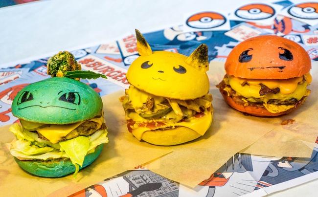 Không phải fan ruột, bạn cũng muốn thưởng thức đủ bộ hamburger Pokémon đã ngon lại còn đẹp - Ảnh 1.