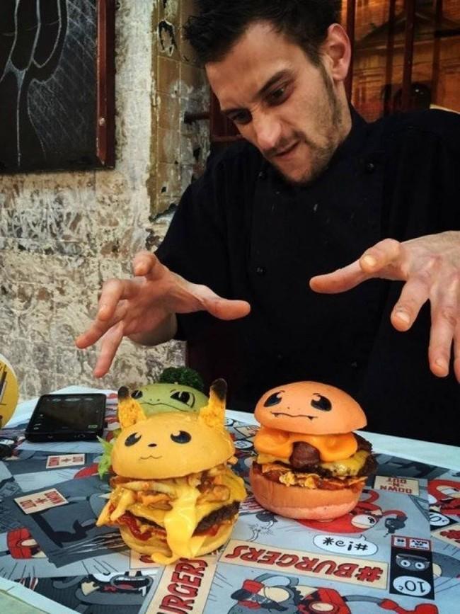 Không phải fan ruột, bạn cũng muốn thưởng thức đủ bộ hamburger Pokémon đã ngon lại còn đẹp - Ảnh 2.
