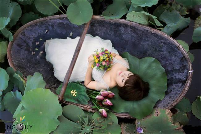 Khi cộng đồng photoshop chung tay đem hồ sen đến với 2 cô gái ung thư máu ở Hà Nội - Ảnh 12.