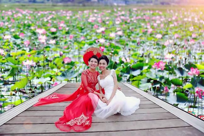 Khi cộng đồng photoshop chung tay đem hồ sen đến với 2 cô gái ung thư máu ở Hà Nội - Ảnh 11.