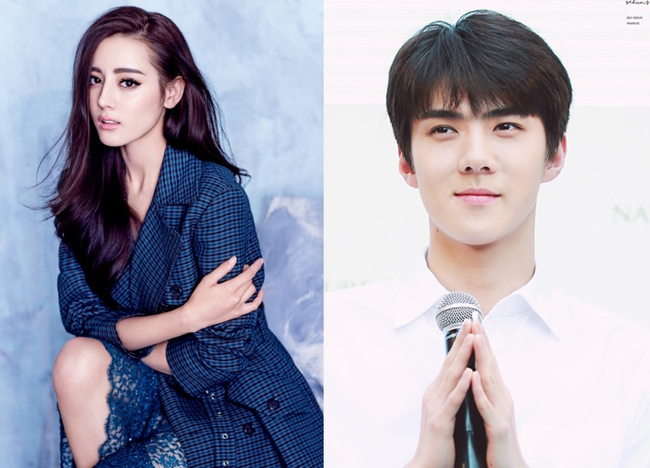 Sehun (EXO) xác nhận nên duyên cùng Địch Lê Nhiệt Ba trong phim mới