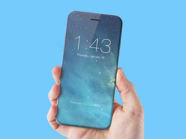 iPhone 8 sẽ có màn hình phủ kín 100% mặt trước - Ảnh 1.