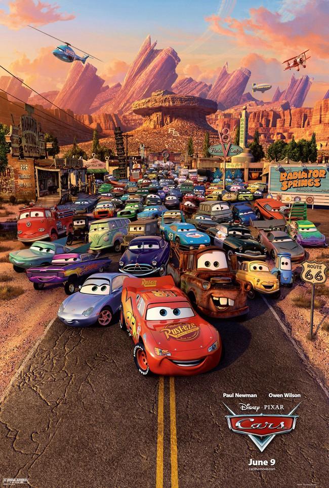 Đen tối hóa Cars 3 - Lựa chọn đầy mạo hiểm của Pixar - Ảnh 1.