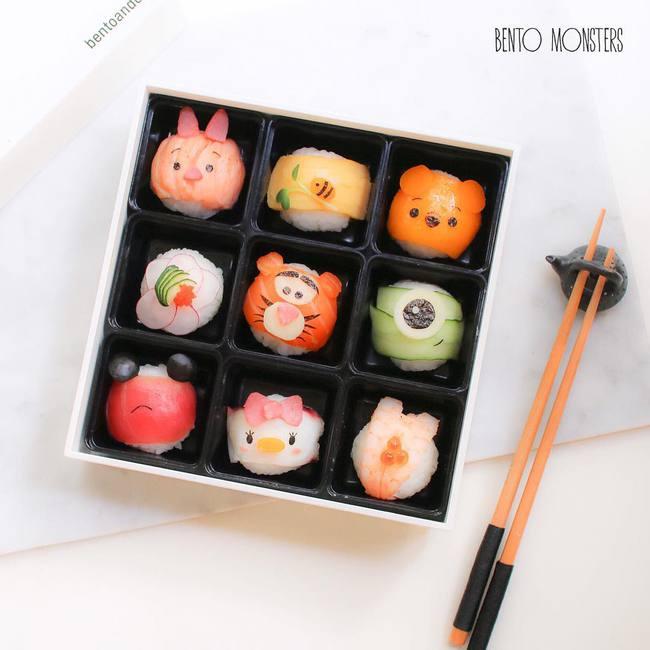 Bộ sưu tập sushi cực dễ thương khiến bé chẳng bao giờ từ chối bữa ăn - Ảnh 11.