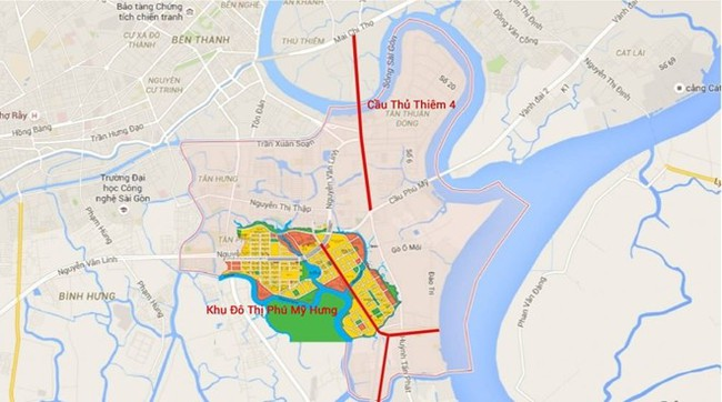 Hơn 5.200 tỷ xây cầu Thủ Thiêm 4 dài 2,1 km - Ảnh 2.