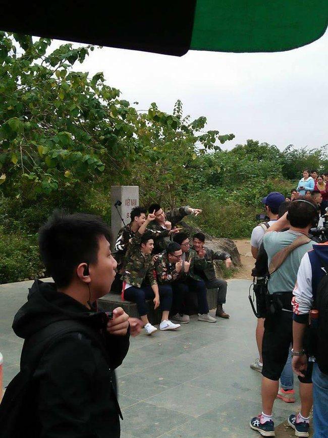 Rộ hình ảnh Lâm Chí Dĩnh, Quách Phú Thành cùng dàn sao nam đình đám Cbiz có mặt tại Cao Bằng, Việt Nam - Ảnh 9.