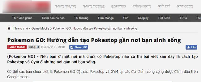 Người chơi Pokemon GO Việt Nam phá hoại dữ liệu Google Maps - Ảnh 4.