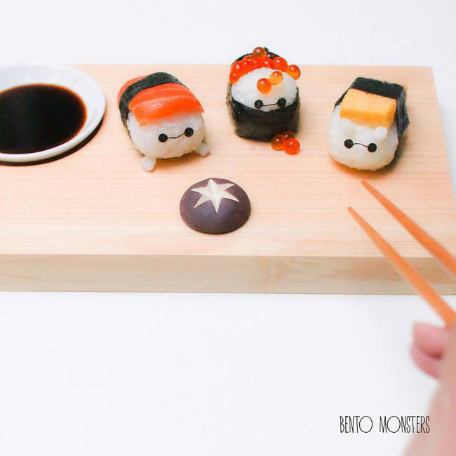 Bộ sưu tập sushi cực dễ thương khiến bé chẳng bao giờ từ chối bữa ăn - Ảnh 7.