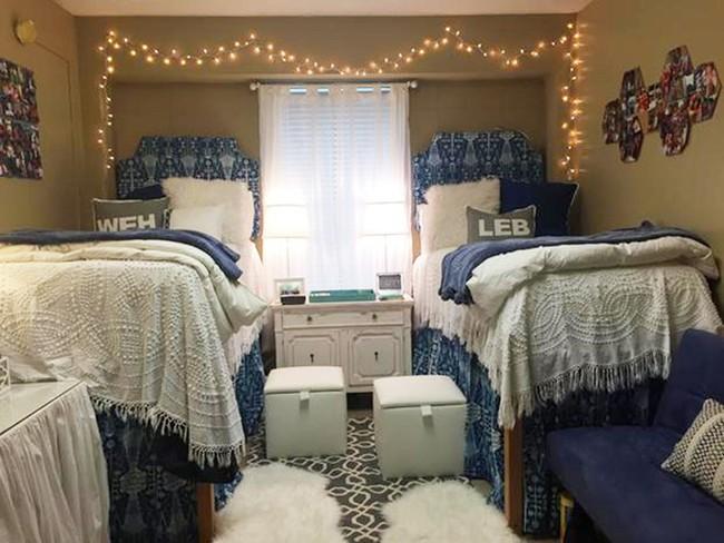 Phòng ký túc xá sang trọng như khách sạn của hai nữ sinh Mỹ - Ảnh 9.