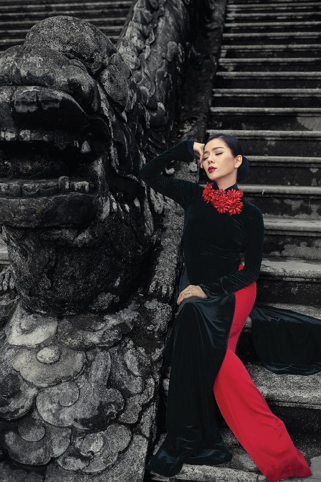 Lệ Quyên hoá gái Huế dịu dàng trong album nhạc Lam Phương - Ảnh 6.
