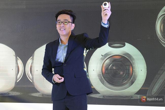 Samsung Gear 360: Vũ khí mới cho tín đồ chơi ảnh vừa ra mắt - Ảnh 1.