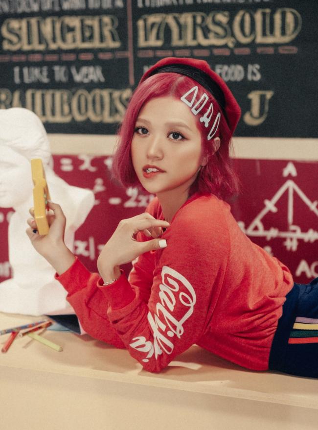 Suni Hạ Linh tóc hồng rực, khoe vũ đạo điêu luyện trong MV mới - Ảnh 7.