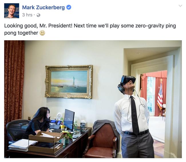 Mải nghịch kính thực tế ảo, Tổng thống Obama thành nạn nhân của các thánh chế ảnh - Ảnh 2.