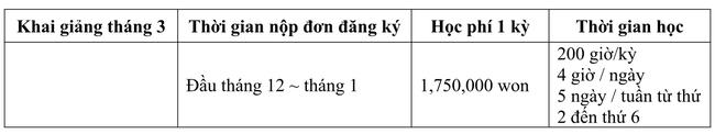 Tuyển sinh du học Hàn Quốc học kỳ mùa xuân 2017 - Ảnh 2.