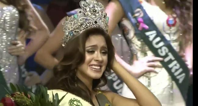 Cận cảnh nhan sắc người đẹp đã đánh bại Nam Em, đăng quang Miss Earth 2016 - Ảnh 3.