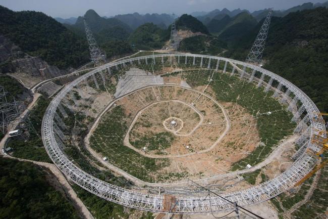 Trung Quốc khánh thành kính viễn vọng săn người ngoài hành tinh lớn nhất thế giới - ảnh 4