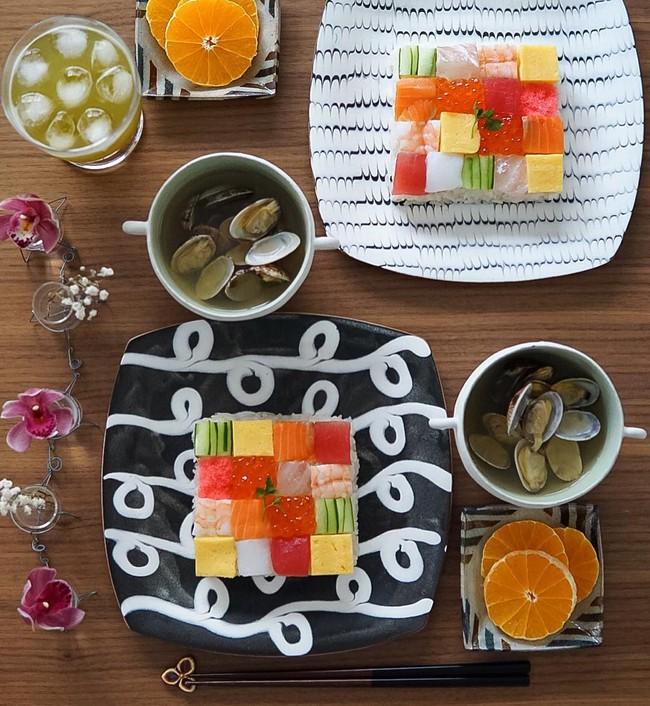 Sushi miếng xưa rồi, bây giờ người Nhật chuyển qua ăn sushi đẹp như tranh vẽ cơ - Ảnh 8.