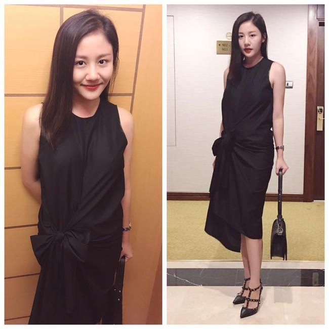 Phạm Hương diện váy xinh như công chúa, bộ đôi SNSD để lộ nội y tại sân bay - Ảnh 8.