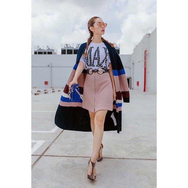 Hà Hồ mặc street style đẹp như thế này thì ngán gì ngôi sao quốc tế nào - Ảnh 7.
