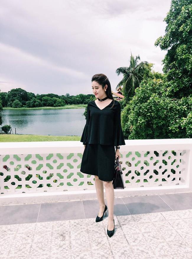 Phạm Hương diện váy xinh như công chúa, bộ đôi SNSD để lộ nội y tại sân bay - Ảnh 7.