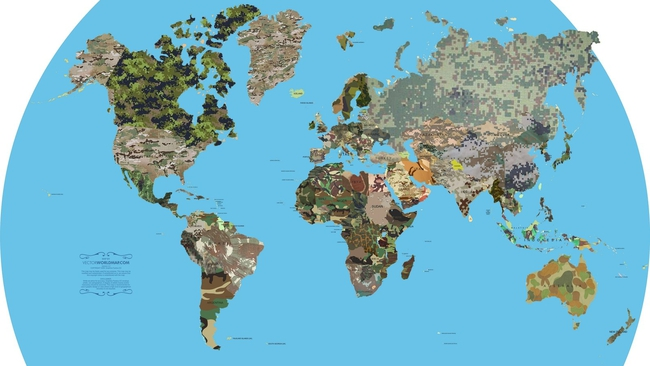 20 tấm bản đồ sẽ khiến bạn có cái nhìn khác về thế giới - ảnh 19