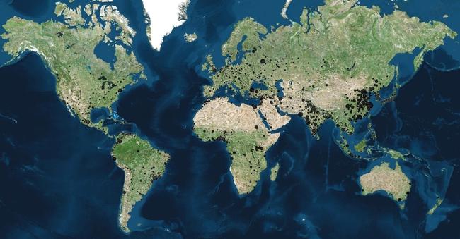 20 tấm bản đồ sẽ khiến bạn có cái nhìn khác về thế giới - ảnh 3