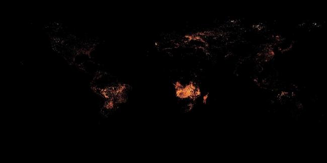 20 tấm bản đồ sẽ khiến bạn có cái nhìn khác về thế giới - ảnh 11