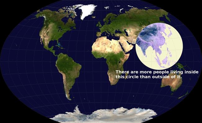 20 tấm bản đồ sẽ khiến bạn có cái nhìn khác về thế giới - ảnh 5