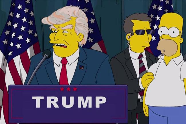 16 năm trước, phim hoạt hình Gia đình Simpson đã tiên đoán ông Trump sẽ trở thành Tổng thống Mỹ - Ảnh 2.