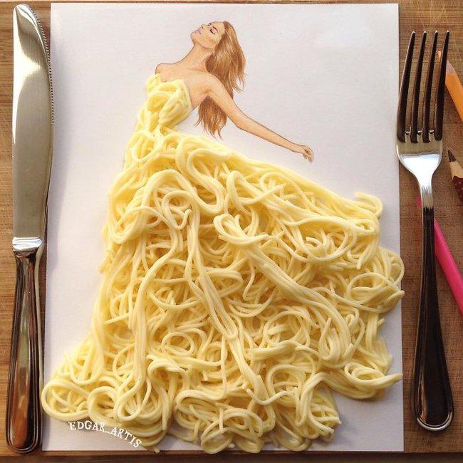 Con gái chắc chắn sẽ chết mê những mẫu váy dạ hội lộng lẫy lấy cảm hứng từ vật dụng đời thường - Ảnh 1.