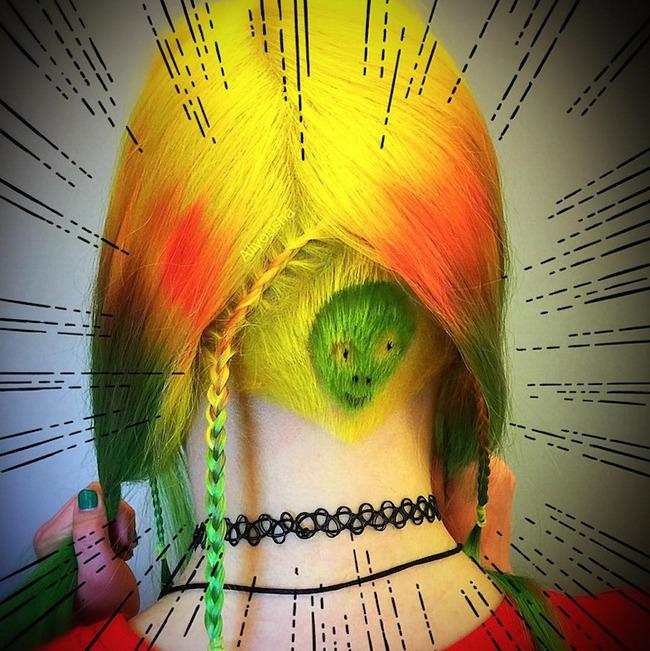 Những mái tóc cạo gáy tạo hình động vật vừa cá tính vừa kín đáo vô cùng - Ảnh 8.